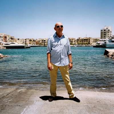 Walter Plangenauer, manager of residential properties and hotels in Marina Plaza, Tala Bay.
