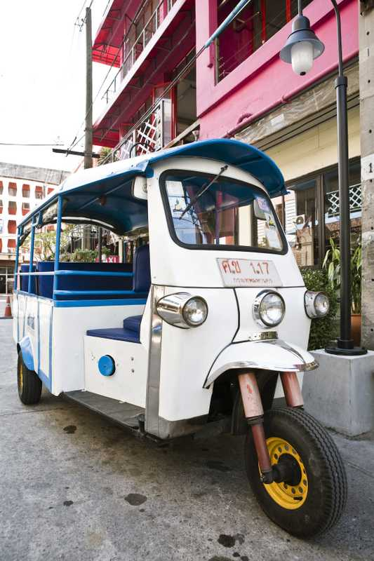 Free tuktuk service for Mystic Palace guests