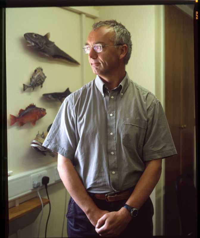 Director of Fisheries, John Barton