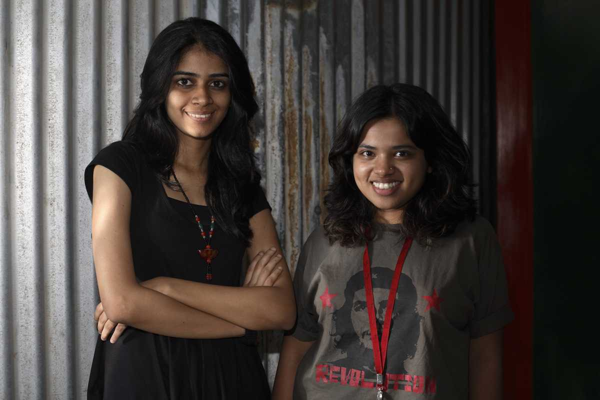 Neeta Govila and Nani Salgaokar, interns at Ogilvy