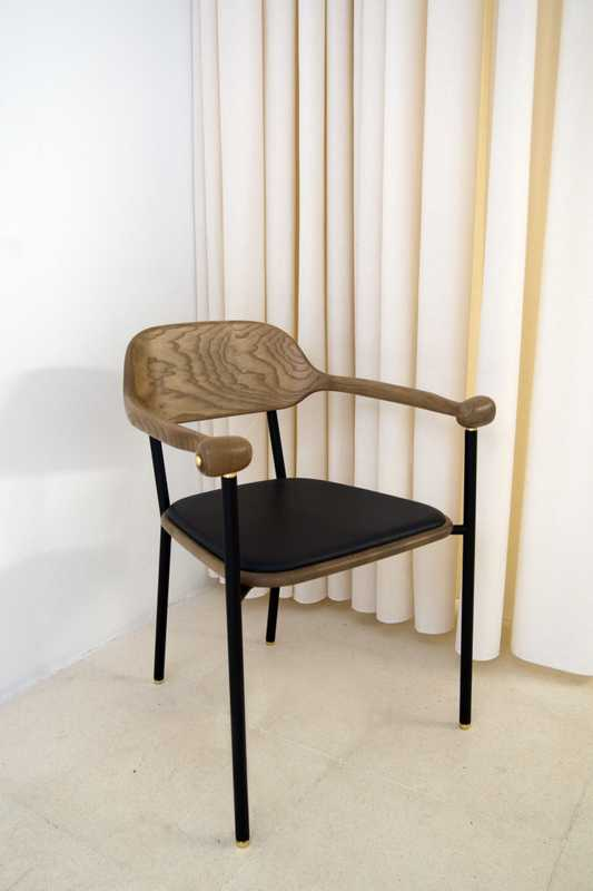'Propulseuse' chair by David/Nicolas