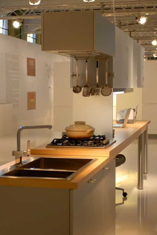 Veneta Cucine's exhibition