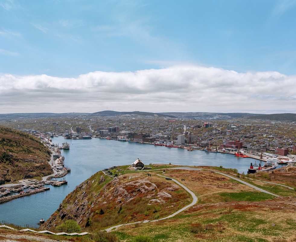 View from Signal Hill, St John's