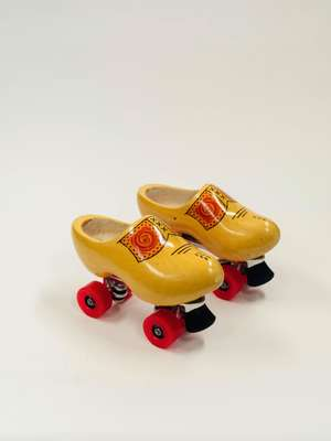 Who knew they made roller-clogs?