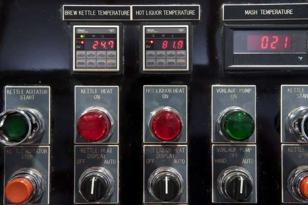 Controls to the kettles