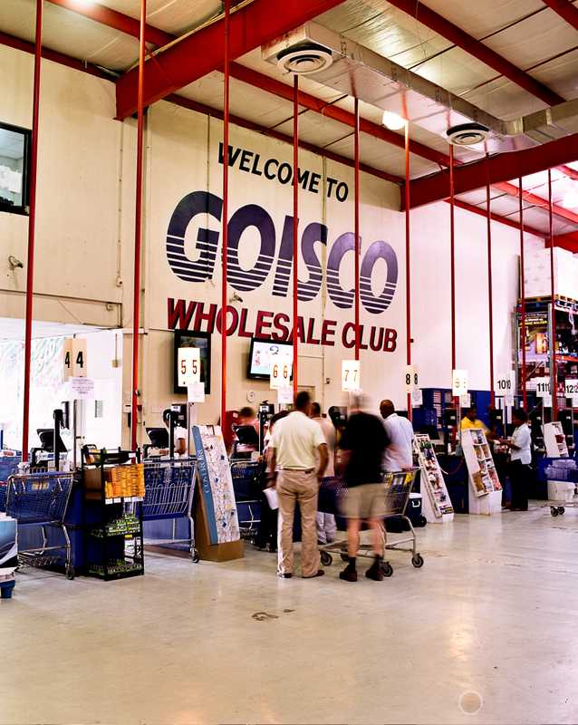 Goisco wholesale-style big-box store