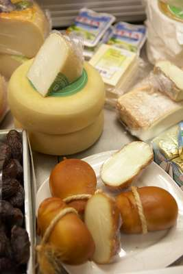 Gaia cheese counter