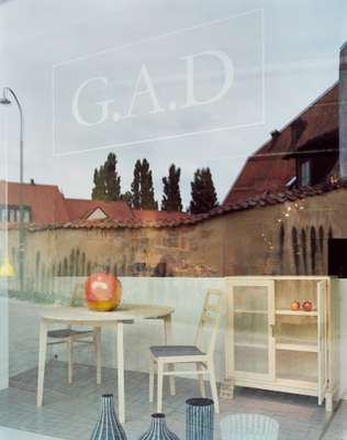 G.A.D shop in Visby