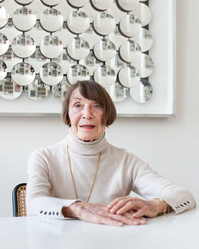 The Foundation's original matriarch, Anneliese Friedmann