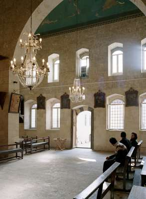 Syrian Catholic church (built 1625) in the quarter of Al-Jdeidah