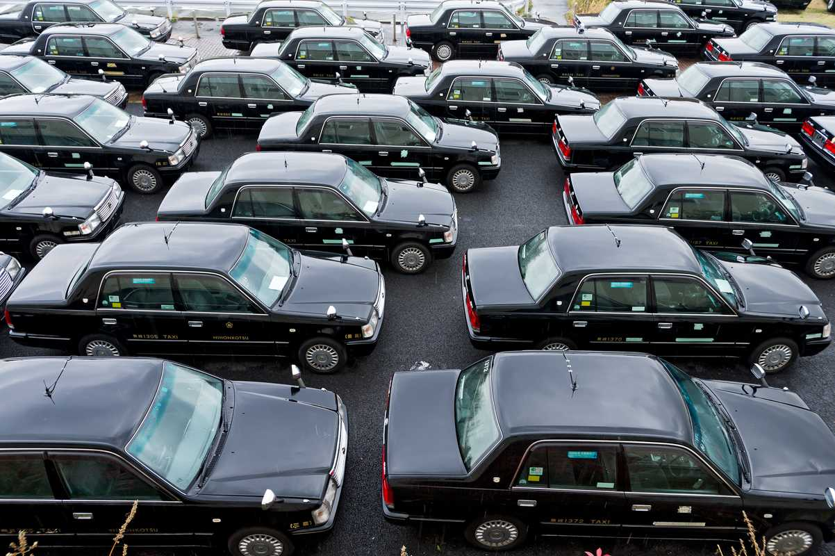 After six years and 600,000km of service, taxis are retired