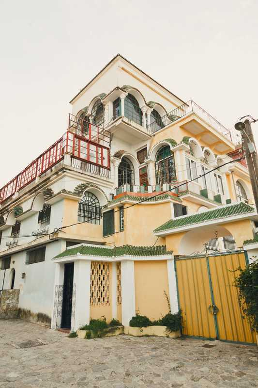 Eclectic architecture in Marshan