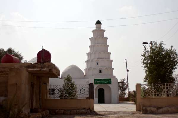 Hasan al-Basri mausoleum, named after an Arab theologian who was born in the medina