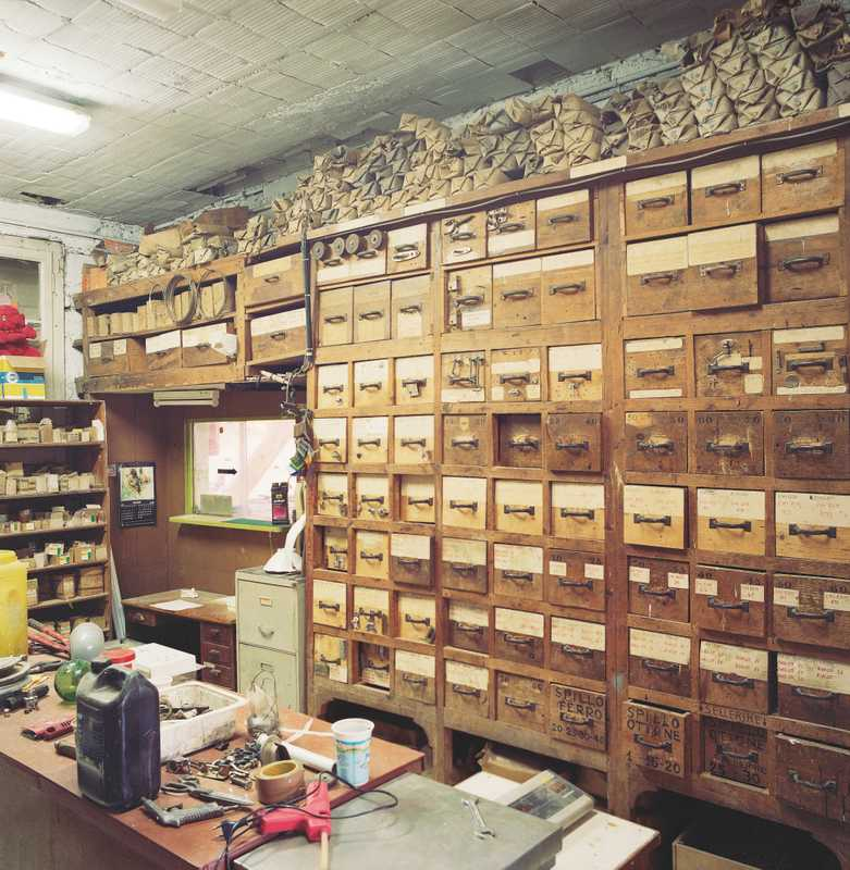 Stockroom at Sangermani