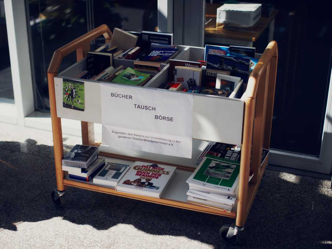 A book exchange programme for Goethe-Institut employees