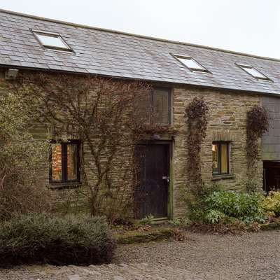 His Devon home and studio