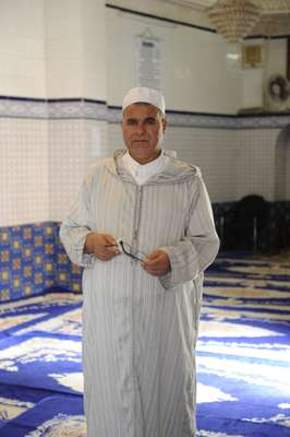 Imam at the Mantelete mosque