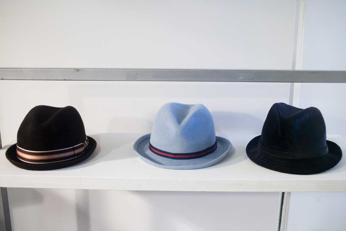 Anthony Peto hats