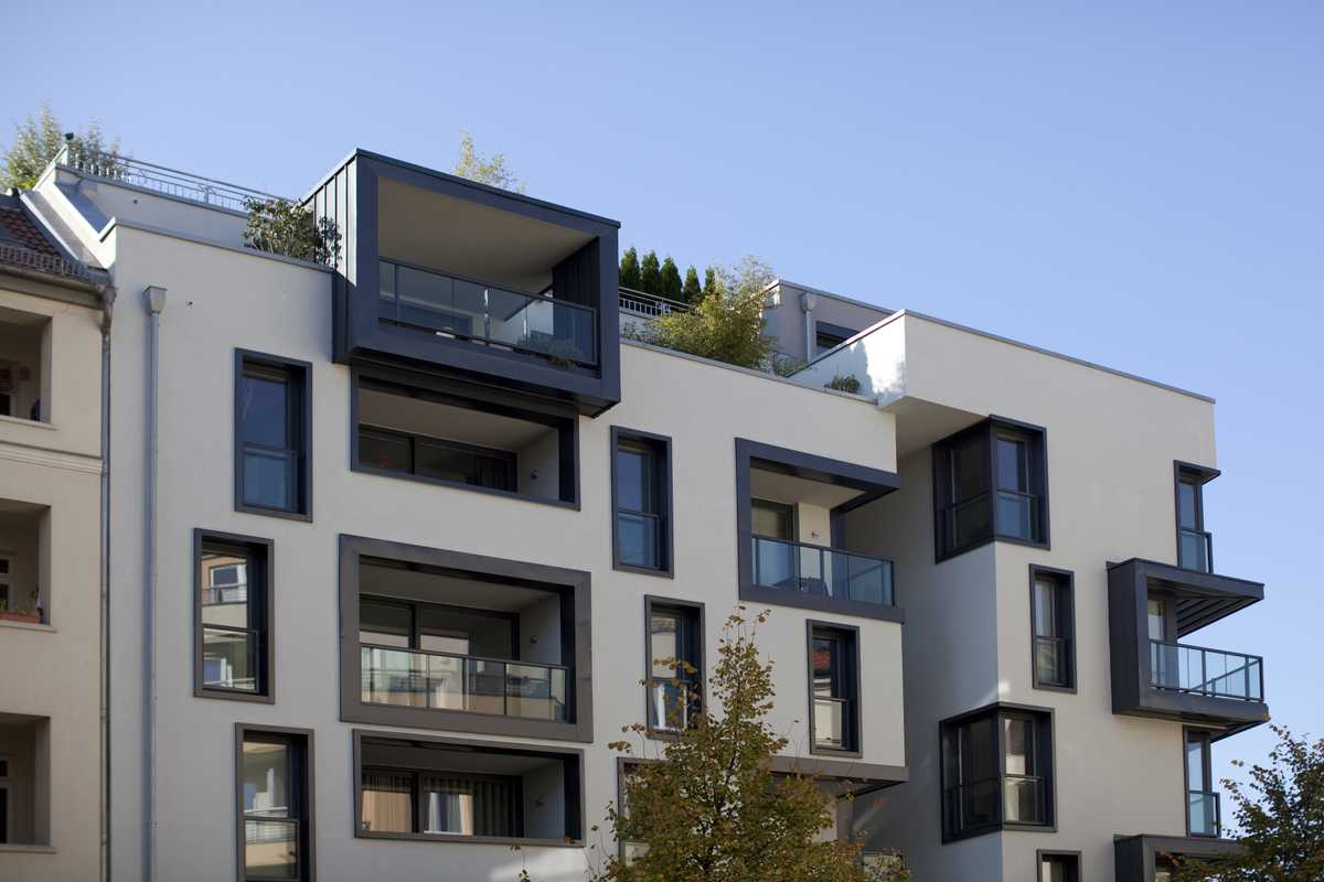 New apartments in Gartenstrasse