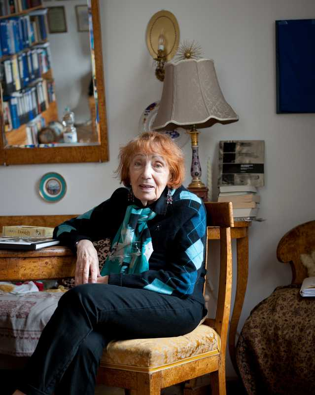 Dr Maya Turovskaya, a film and theatre critic