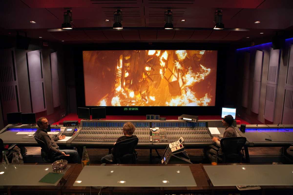 FFS converted a cinema in Munich into a mixing room