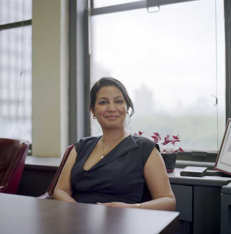 Purnima Kapur, director of the Brooklyn office