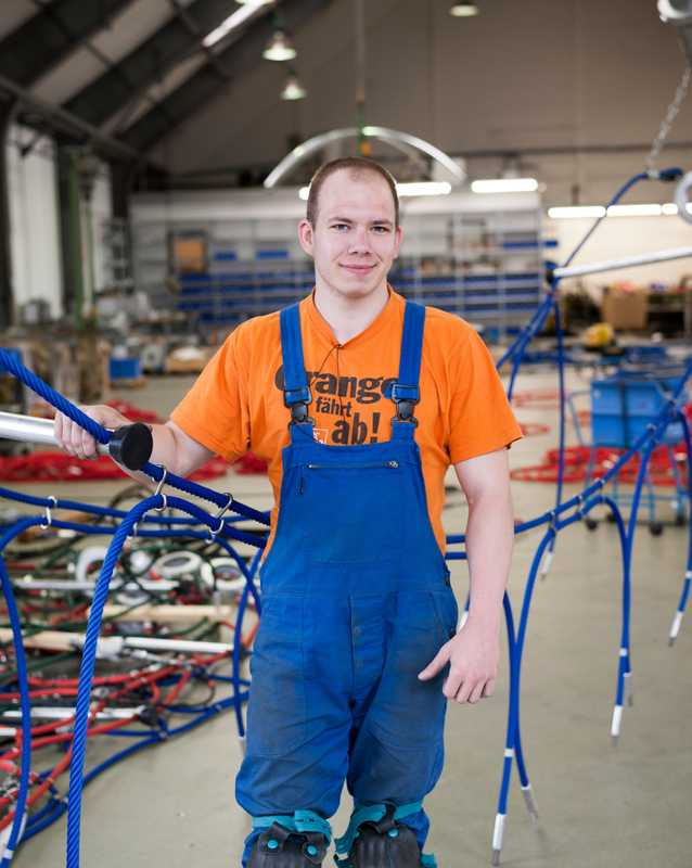 Benedikt Klauss, assembly team assistant