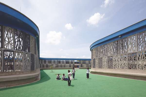 Exterior of Wada kindergarten