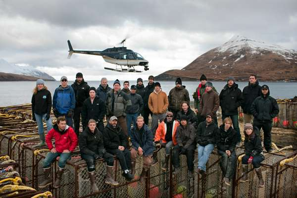 Production crew from 'Deadliest Catch'