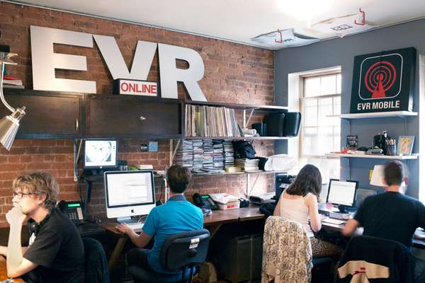 Staff at EVR's First Avenue office