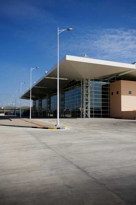 New airport terminal paid for with Chinese investment