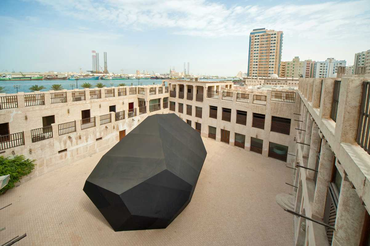 'Infinite Rock' by Thilo Frank at Sharjah Biennial 11
