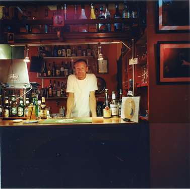 Mads Breyen, the Danish owner of Moon Bar on Tanegashima