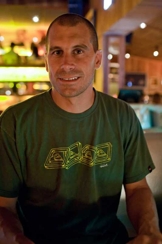 Juan Pablo Clerici, co-owner of Café Misterio