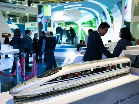 Model for a new Chinese high-speed vehicle