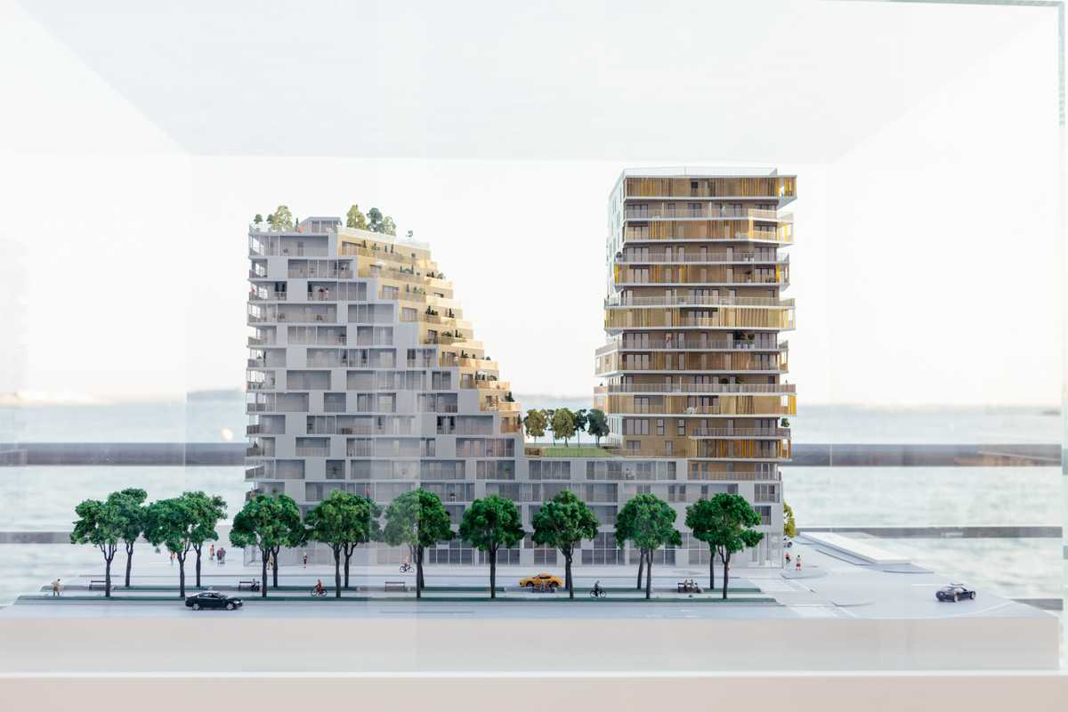 Residential block from Bouygues Immobilier