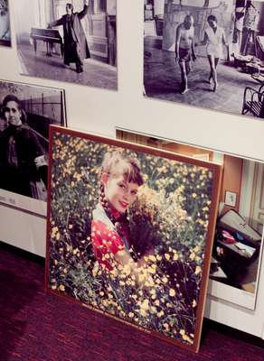 Picture of a young Brigitte Bardot in PA Karyn Bauer's office