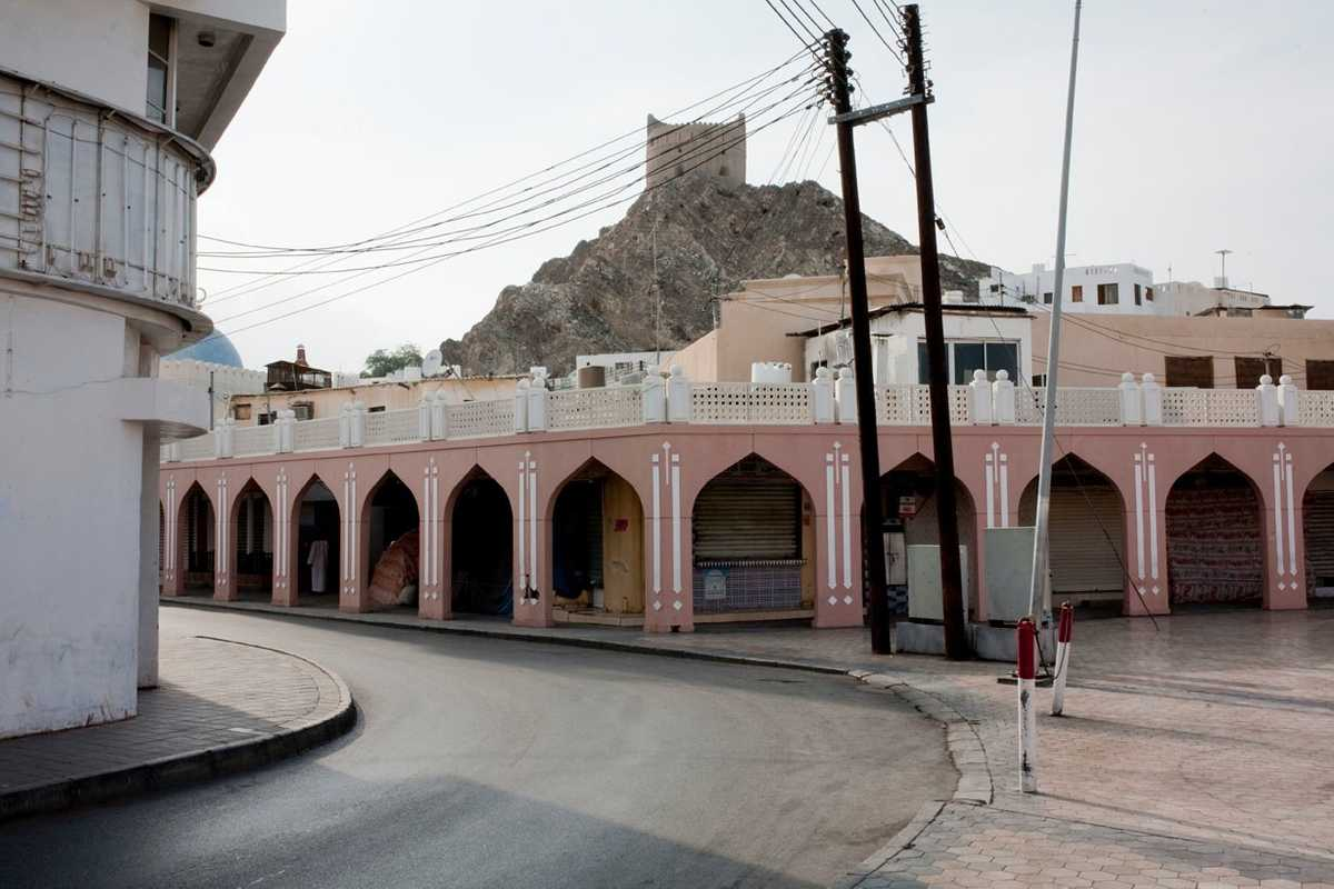 Neighbourhood in old Muscat
