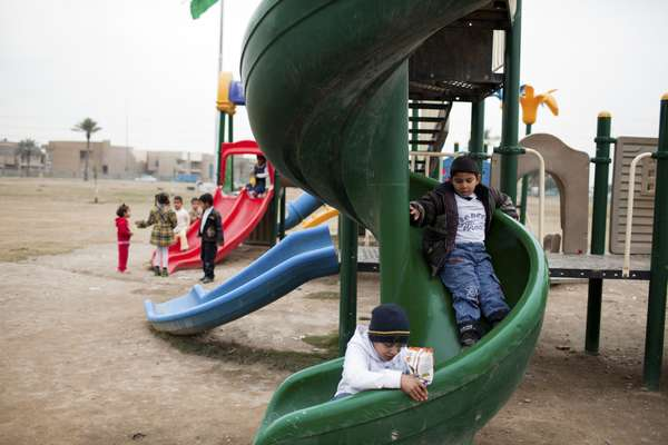 New playground in Baghdad