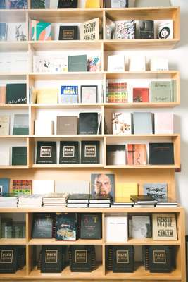Book shelf at 534 West 25th Street