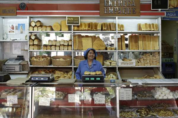 Traditional bakery on Calle Independencia