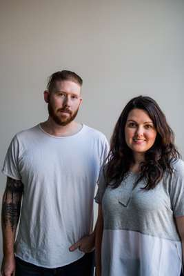 Adam and Jamie Gatchel, the husband-and-wife team who founded Southern Lights Electric Co