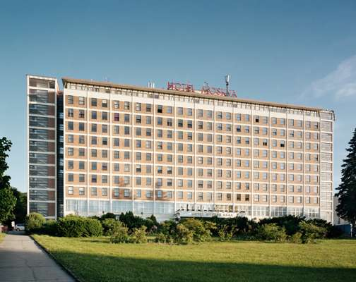 Hotel Moskva (originally Spolecensky Dum) opened  its doors in 1932
