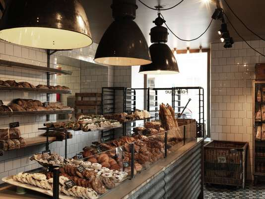 The bakery specialises in pastries and sourdough loaves