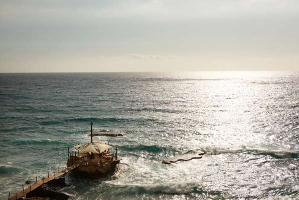 Batroun is known for its clear, greeny-blue waters. Very escapist