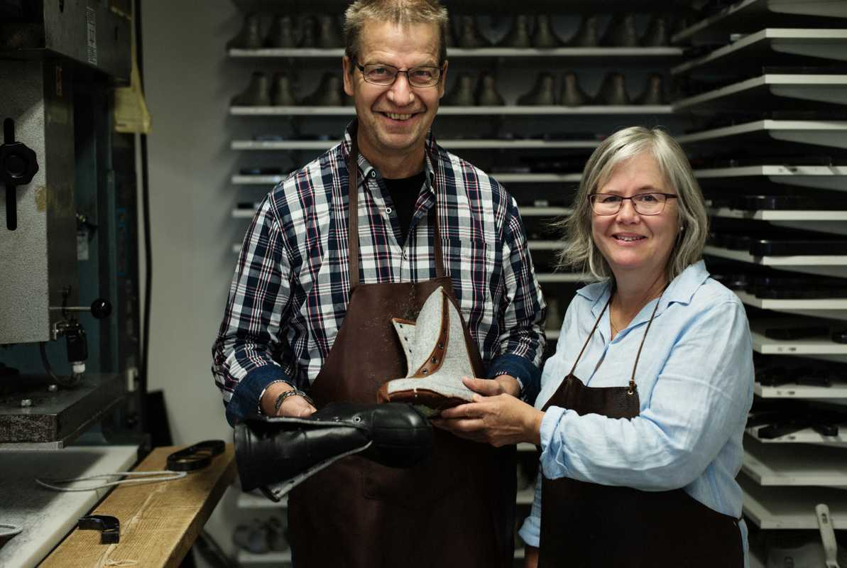 Bengt and Agneta Rådman, owners  of Winter Life