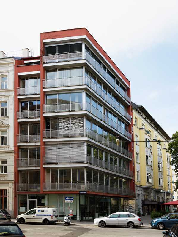The practice's offices in Vienna