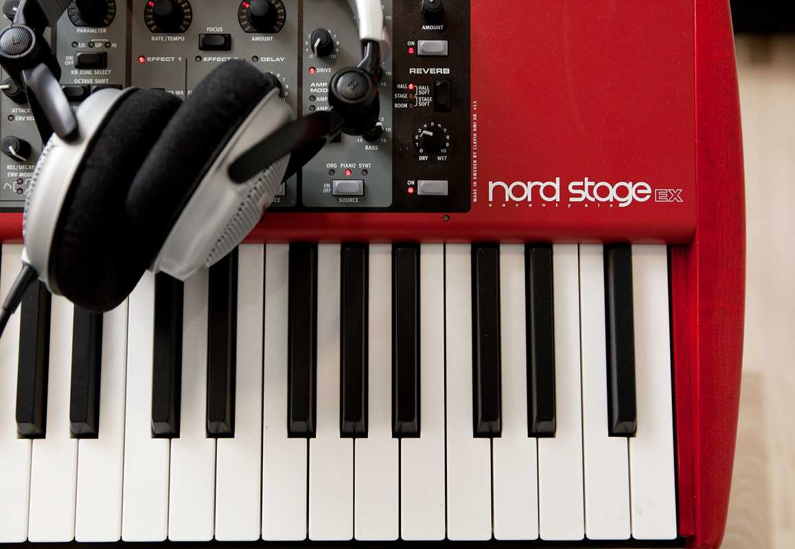 Nord Stage Ex combines organ, piano and synth