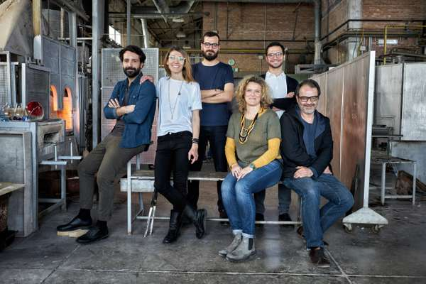Breaking the Mould collective and (right) Salviati's Monica Crescente