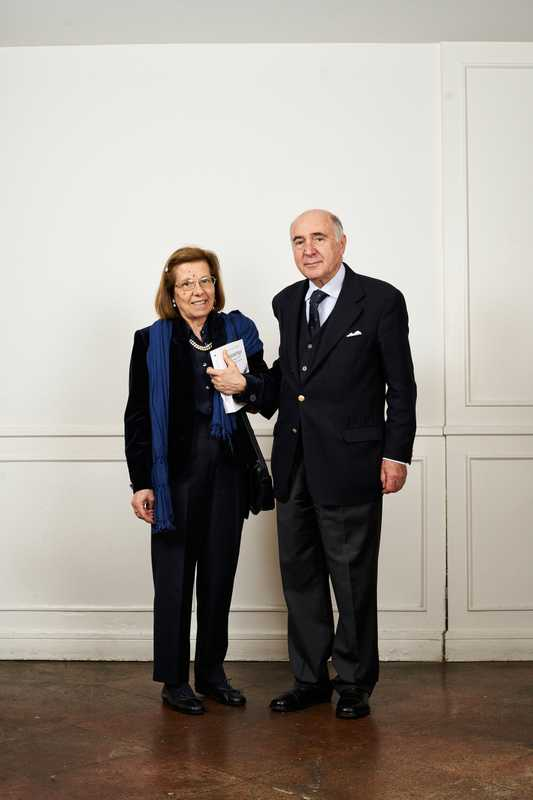 Non-diplomatic members Gloria Ambroggio and Maurizio Maria di Nitto; Di Nitto worked in finance